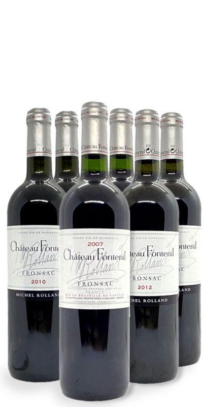 Vinlåda Château Fontenil